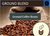 Ground Blend Ground Coffee Beans (1kg)