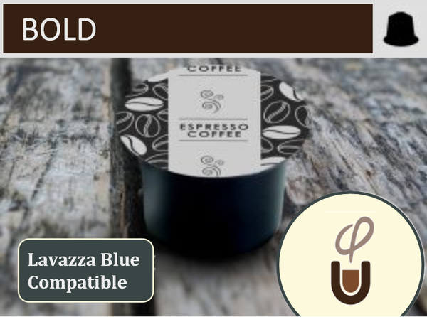 Lavazza Blue Compatible Bold (96) - Community Pod - Coffee that Gives