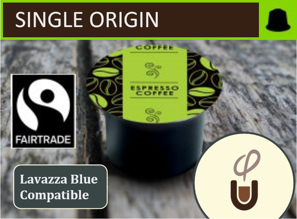 Lavazza Blue Compatible Single Origin - Fair Trade - Organic (96) - Community Pod - Coffee that Gives