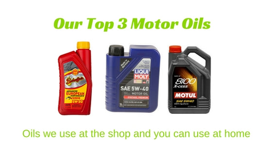 Our Top Go-To Motor Oils