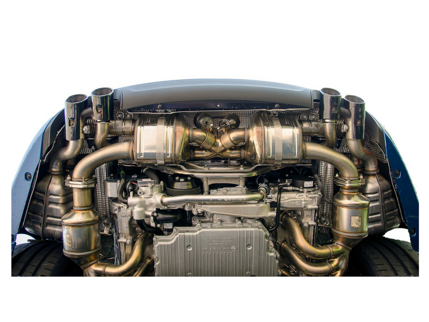 Engine, Transmission & Exhaust