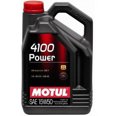 Motul 5L Engine Oil 4100 POWER 15W50