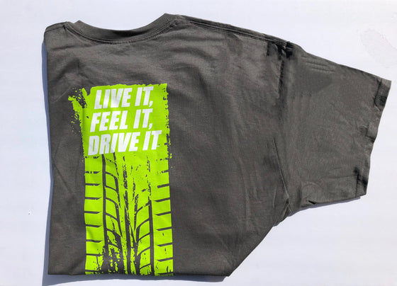 "Pulse Racing Services ""Live It, Feel It, Drive It"" T-Shirt"