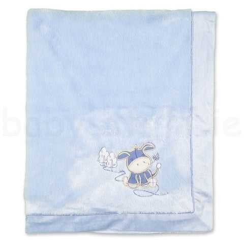 Baby Fleece Blanket - Blue