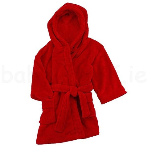 Baby & Child's Bathrobe - Red