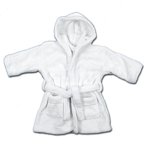 Baby & Child's Bathrobe - White