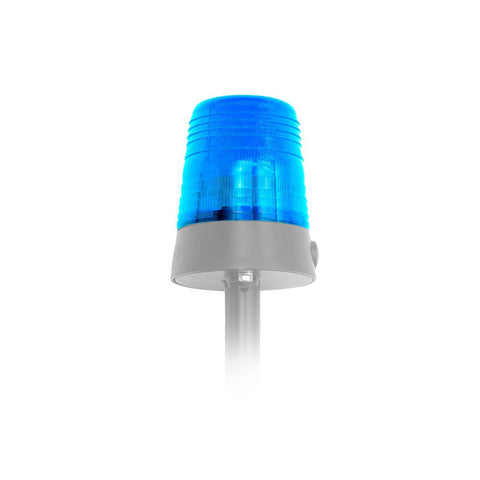 BERG Light Pole with Blue Lens