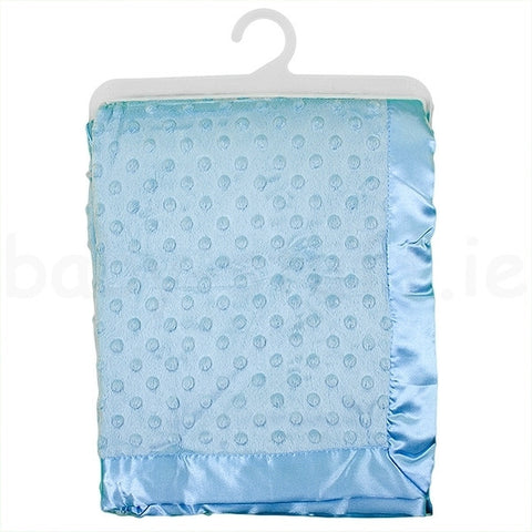 Baby Dimple Blanket - Blue