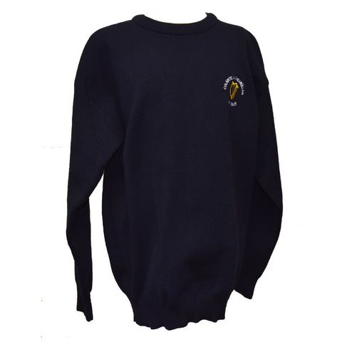 O'Carolan College Nobber Crested Jumper - Navy