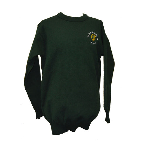 O'Carolan College Nobber Crested Jumper - Green