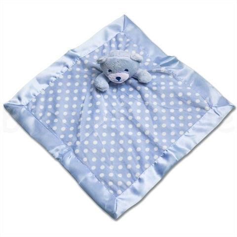 Dimple Baby Comforter - Blue