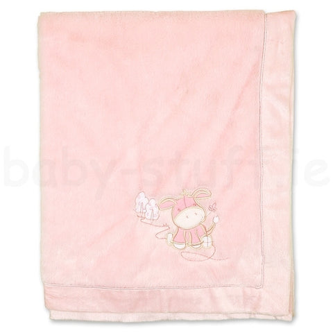 Baby Fleece Blanket - Pink