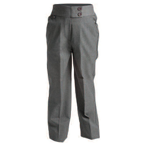 St. Oliver's N.S. Navan Girls Trousers - Grey