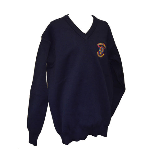 St. Patrick's Classical School Crested Jumper