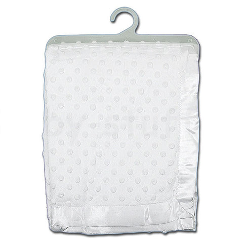 Baby Dimple Blanket - White