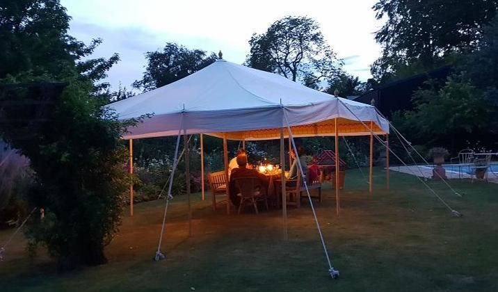 Bazaar Tent 26 x 14ft (roof and poles only) - Available early August 21
