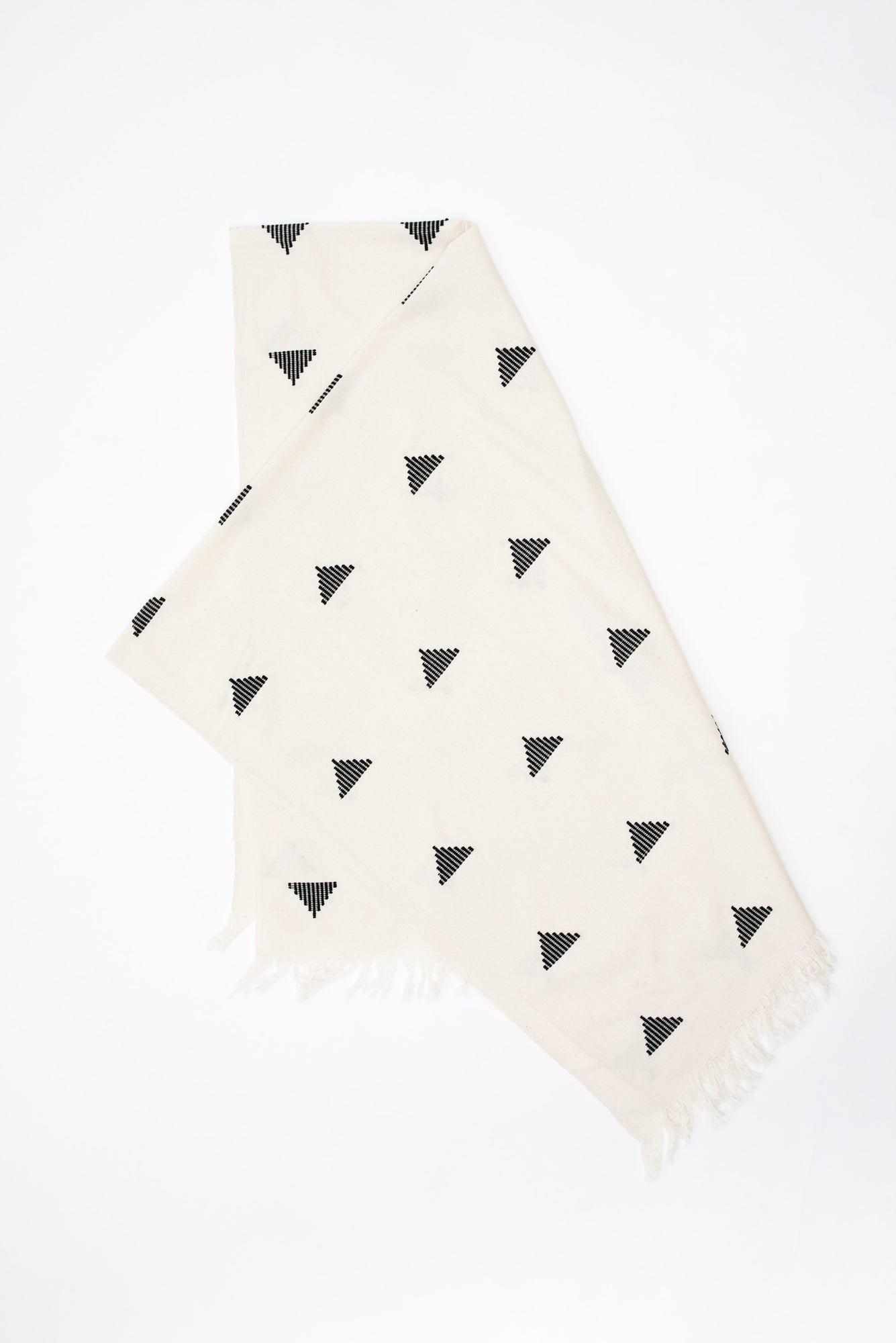 Big Sur Black Triangle Blanket