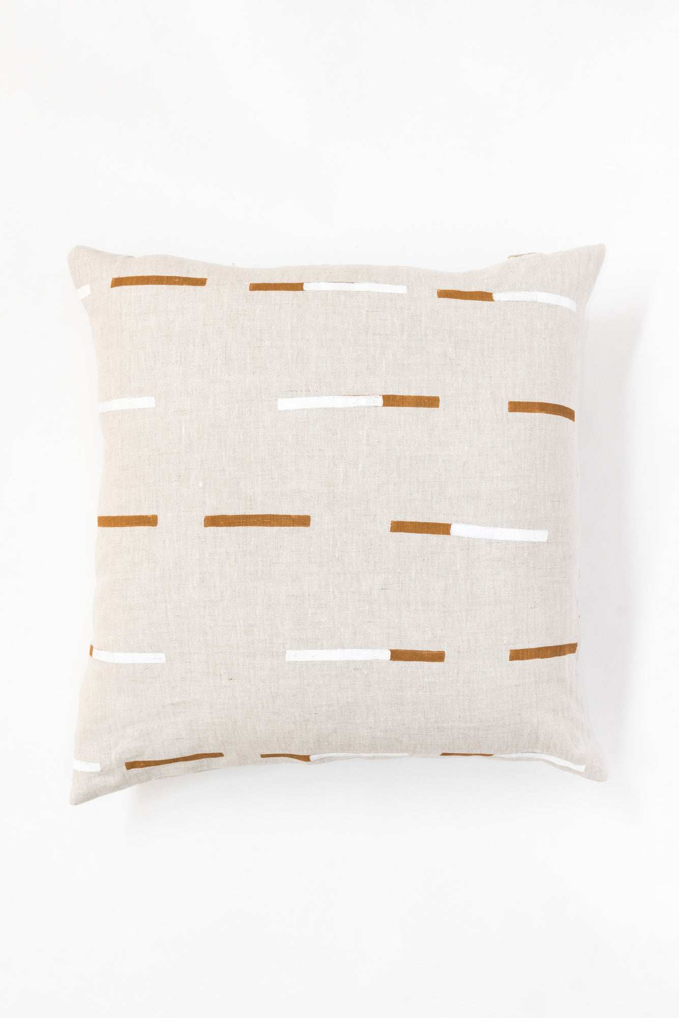 Overlapping Dashes Pillow