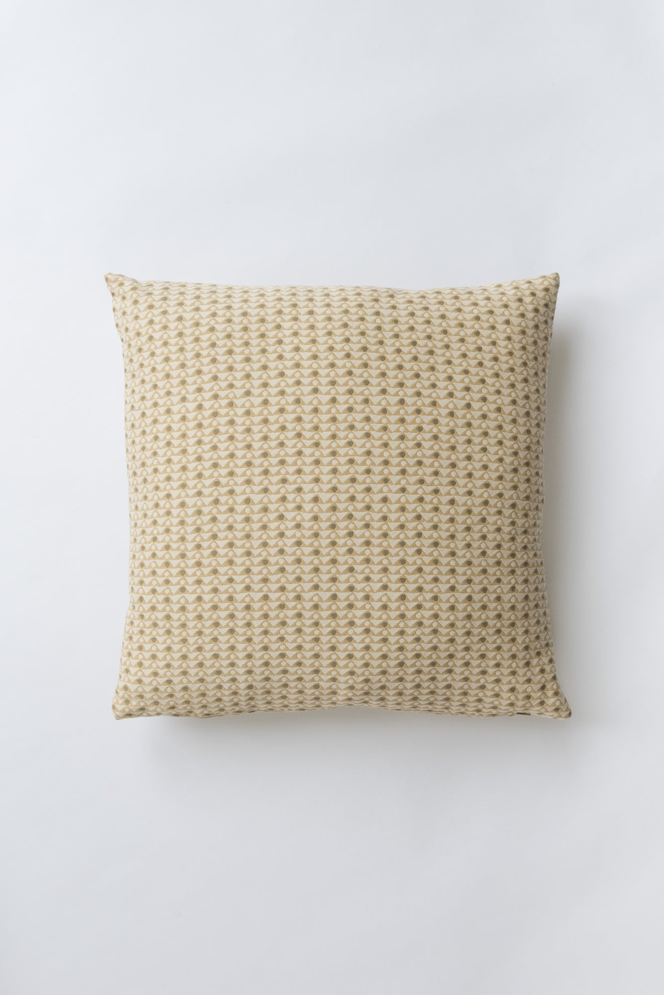 Peacock Raw Sienna Pillow