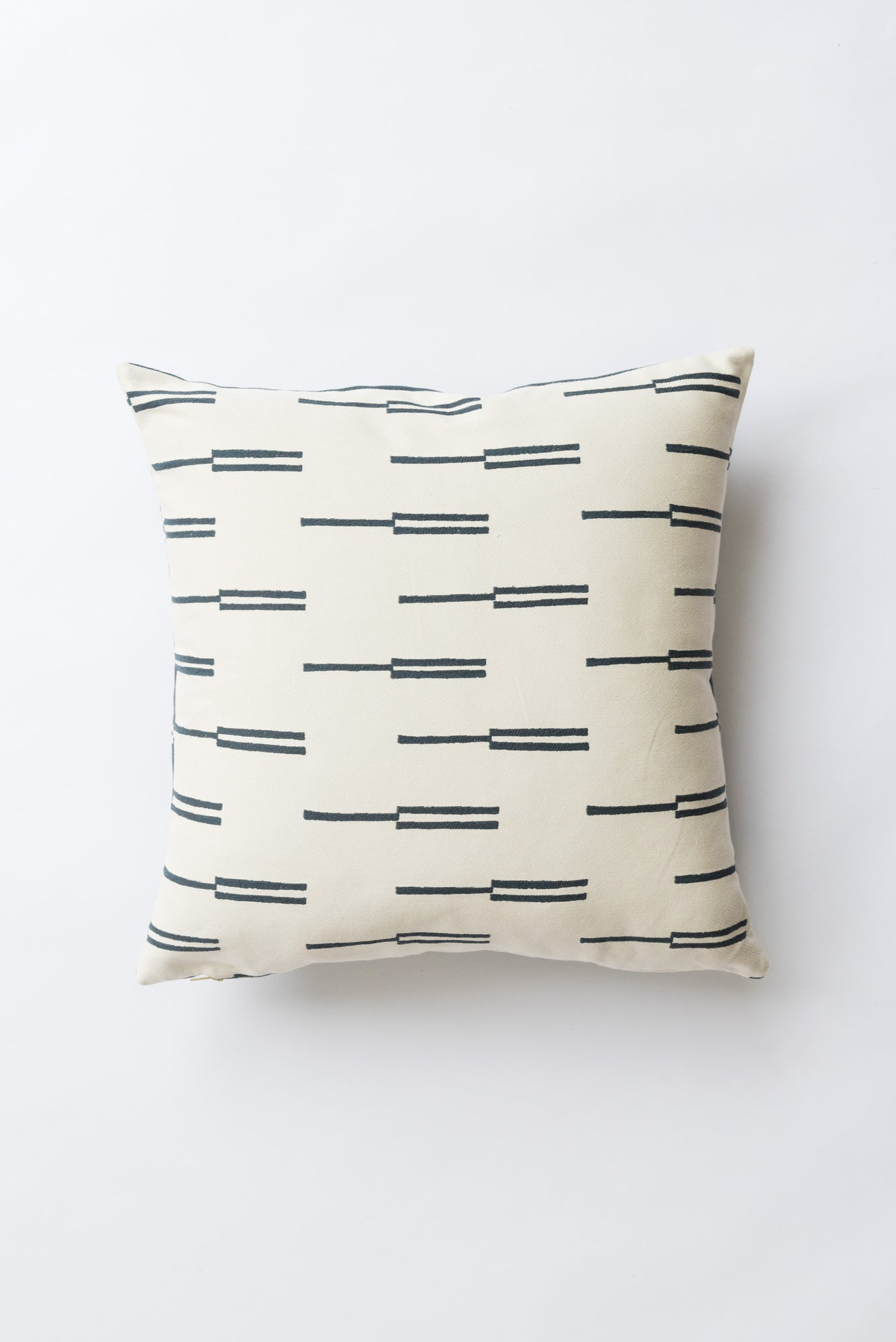 Roadside Navy Pillow
