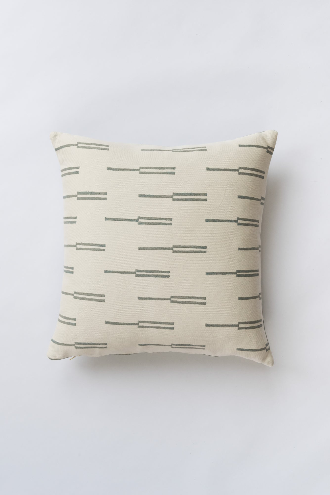Roadside Surf Gray Pillow