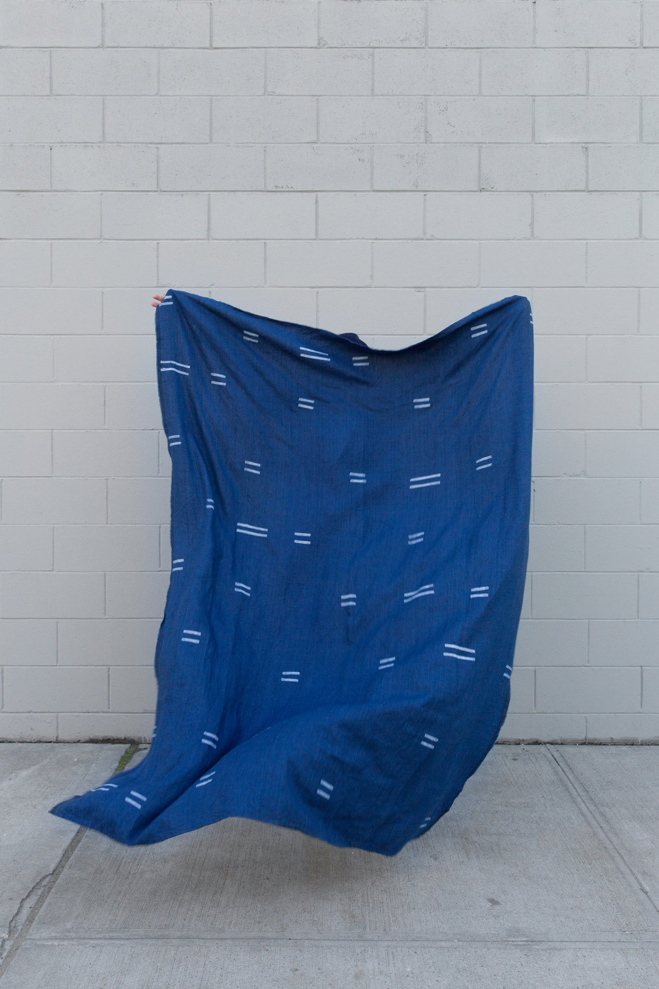 Oaxaca Indigo Throw