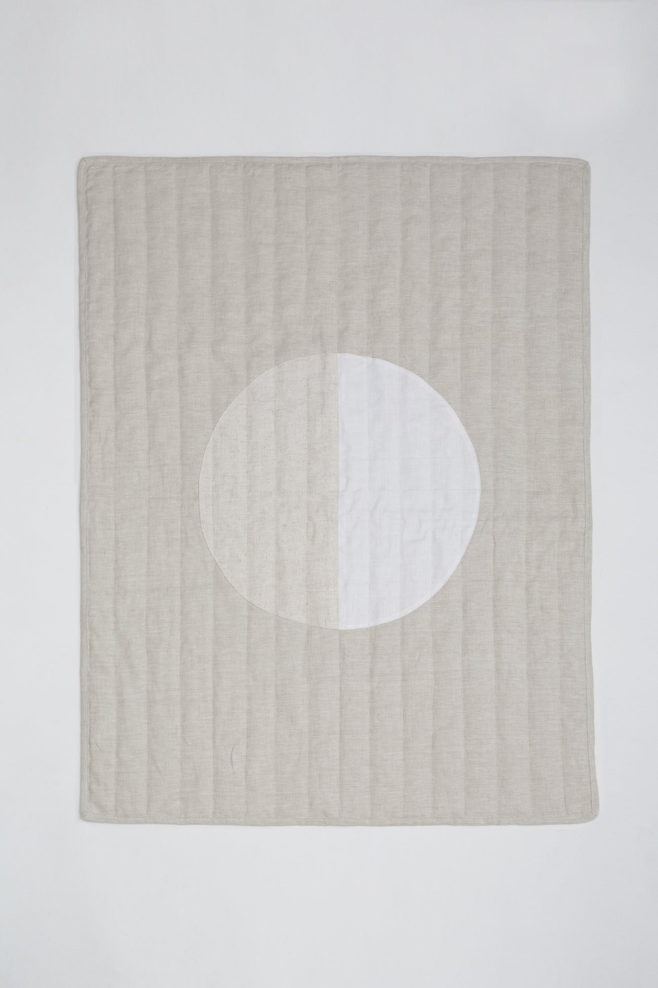 Moon White Quilt