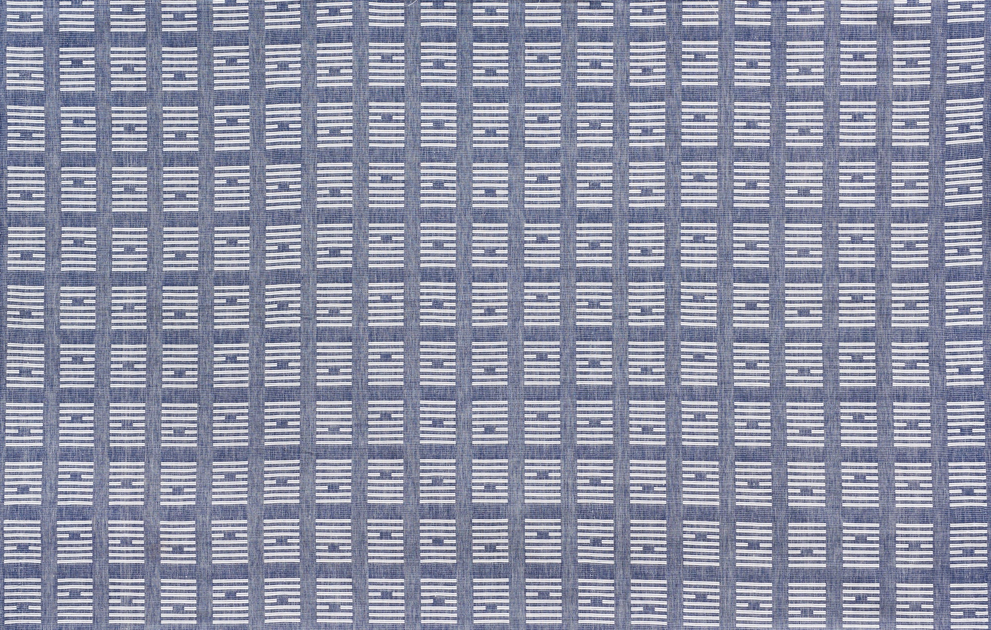 Tiasquam Weave Navy - Fabric By The Yard