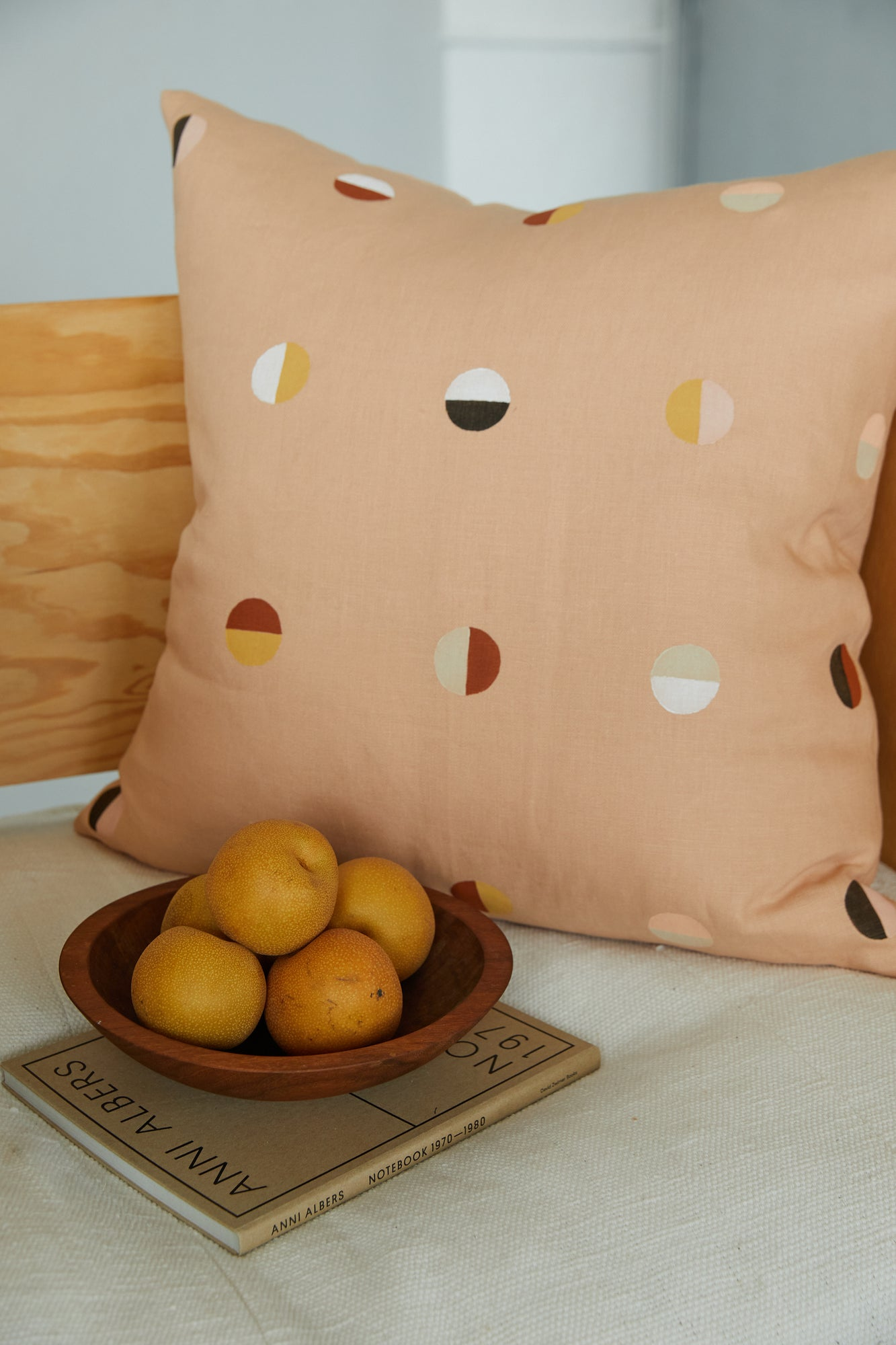 Pink Moons Pillow