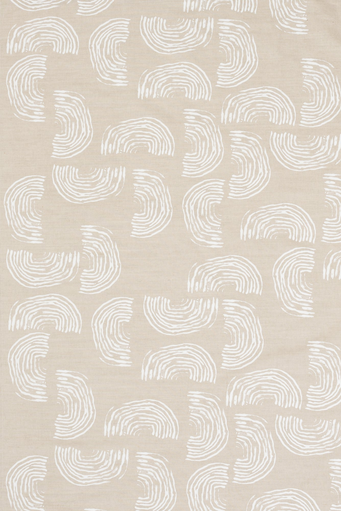 Squiggles White - Fabric By The Yard
