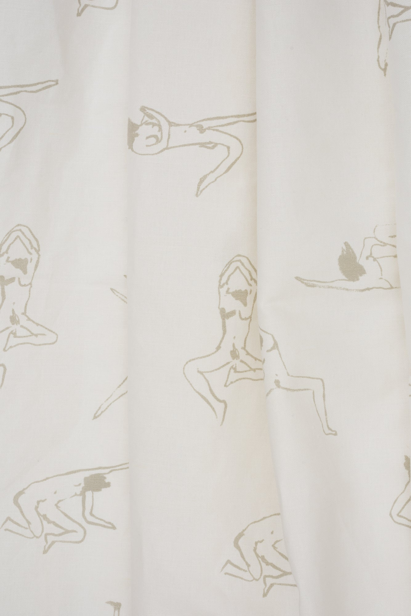 Naked Ladies Gray - Fabric By The Yard