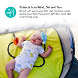 bbluv - Nidö mini 2 in 1 Travel Bed & Play Tent