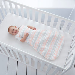 Grobag - Baby Sleeping Bag in Jacquard - Blushing Tulips