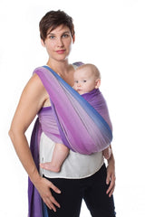 Chimparoo Woven Wrap Baby Carrier in Amethyst