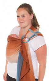 Chimparoo Ring Sling Baby Carrier in Aquaterra
