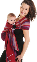 Chimparoo Ring Sling Baby Carrier in Juliet