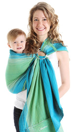 Chimparoo Ring Sling Baby Carrier in Lime