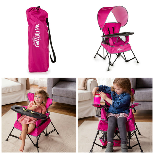 ... Baby Delight Go With Me Chair in Pink ...  sc 1 st  On The Go Baby & Baby Delight Go With Me Chair u2013 On The Go Baby ~ Online Baby Kids ...