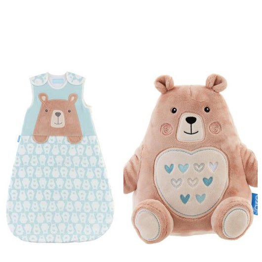 Grobag Baby Sleeping Bag + Grofriend Set in Bennie the Bear