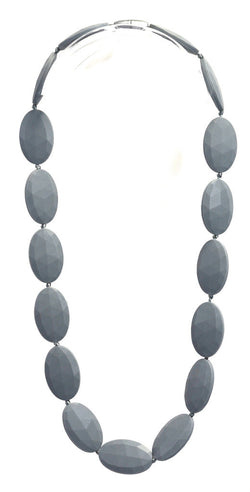 Gumeez - Jules Teething Necklace in Grey