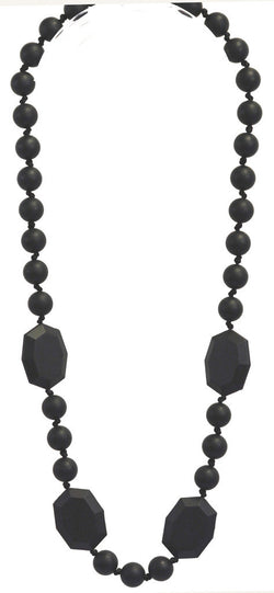 Gumeez - Katie Teething Necklace in Black