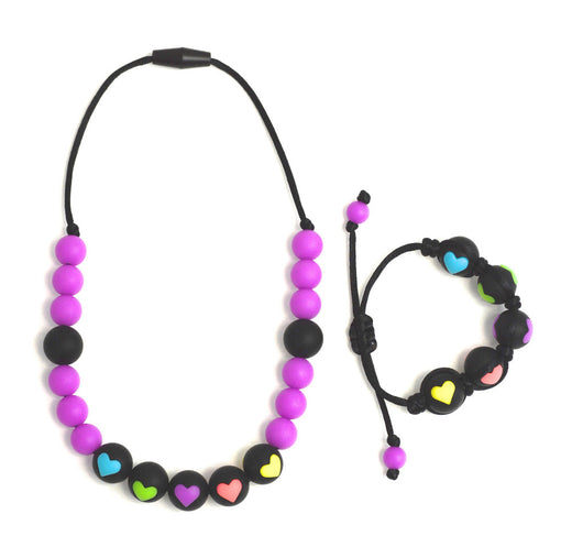 Gumeez JR - I Heart Cinco Necklace and Bracelet Set