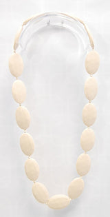 Gumeez - Jules Teething Necklace in Linen
