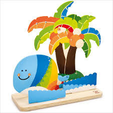 Hape Tropical Island Paint and Play