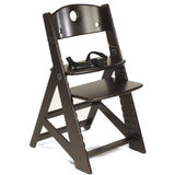 KEEKAROO Height Right Kids Chair (with 3-point harness) in Espresso
