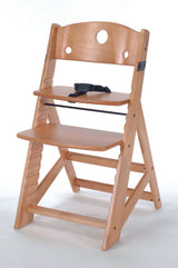 KEEKAROO Height Right Kids Chair (with 3-point harness) in Natural