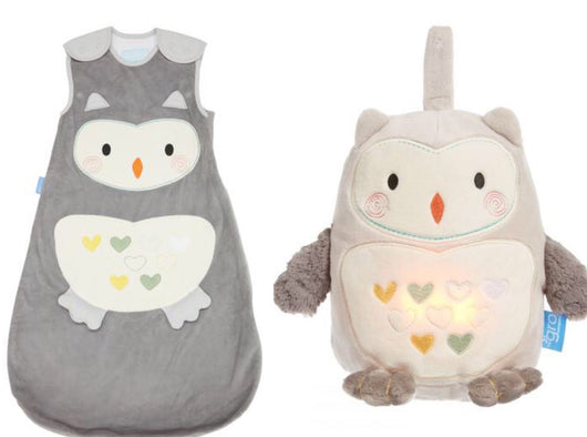 Grobag + Grofriend Set in Ollie the Owl