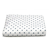 Liz and Roo Crib Sheets (2-pack) Navy Mini Dots