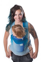 Chimparoo Mei Tai (MEH DAI) Baby Carrier in Ocean