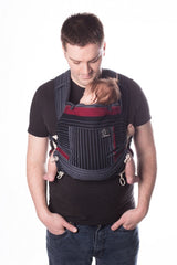 Chimparoo Mei Tai (MEH DAI) Baby Carrier in Onyx